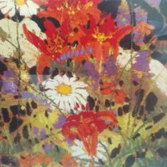 Tom Thomson Flowers Tom Thomson, Emily Carr, Canadian Painters, Canadian Artists, Jackson, Group Of Seven, Artist Painting, Painting Inspiration, Pet Birds