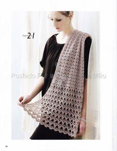 Gorgeous wrap free pattern