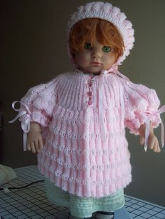 Little Pink Lady by HeirloomBabyGifts on Etsy