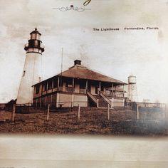 Light house in Fernandina Beach Fl