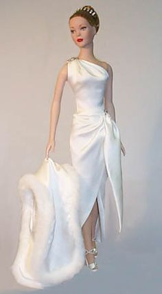 fashion doll, bride doll, Nights in White Satin. Barbie Bridal, Barbie Wedding Dress, Barbie Gowns, Barbie Clothes, Wedding Dresses, Nights In White Satin, Barbie Mode, Bride Dolls, Mini Vestidos