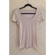 J. Crew Gold Sparkle Scoop Neck Top Gold sparkle scoop neck top by J. Crew. Great layering piece that can be dressed up or down. In great condition. No rips or stains. ❌No Trades❌ J. Crew Tops Tees - Short Sleeve