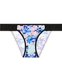 Victorias Secret PINK Logo Bikini Panty Pastel Tie Dye Small -- Details can be found by clicking on the image.