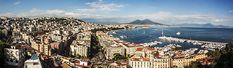 The Bay of Naples, Italy