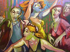 A CHACUN S NATURE - Huile sur toile - 120x100 - Galerie Salamone