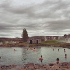 The Secret Lagoon in #Iceland