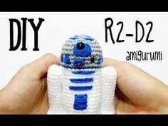 DIY R2-D2 amigurumi crochet.ganchillo (tutorial), My Crafts and DIY Projects