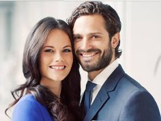 HMK Prince Carl Filip and Sofia from Sweden.
