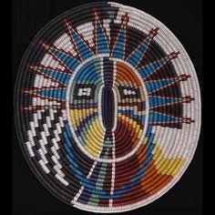 Navajo Changing Woman Basket - Elsie Holiday