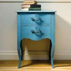 Painted Bombe Bedside Chest £675