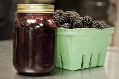 Blackberry Jam 1 cup sugar • ¼ teaspoon butter • 2 tablespoons lemon juice • 4 cups black berries Place all the ingredients in a heavy-bottom, non-aluminum saucepan. Let stand for 10 to 15 minutes to draw the juices. Bring to a boil then reduce heat and simmer for about 30. Skim the froth off the top, and stir frequently to prevent sticking. .