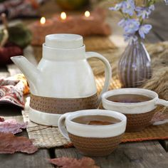 Milky Chai Teapot - Ten Thousand Villages