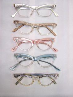 vintage cat eye glasses #glasses #vintage
