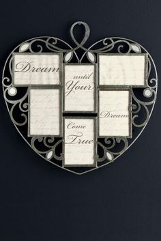 Multi Heart Collage Frame from Next | Home ideas | Pinterest ...