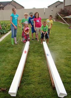 Field Day Game Idea: Race The Ducks...use water blaster squirt guns instead - Click image to find more kids Pinterest pins
