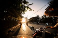 "Moto-trekking the highways of Northern Thailand #pinterest  One of the highways up in the north of Thailand is known as the ""road of 10,000 turns."" If you've ever ridden a motorcycle, that line probably just made you drool on your shirt a little bit."