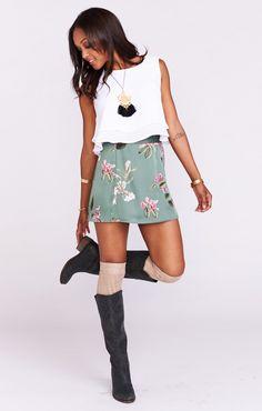 Huck Skirt ~ Laura Flora