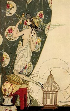 An Illustrator's Inspiration: Other art deco fashion illustrators, part II