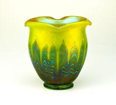 Loetz   Phänomen Vase ca. 1900.