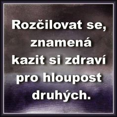 To je pravda. Story Quotes, Wise Quotes, Motivational Quotes, Just Smile, Mindfulness Meditation, Motto, Slogan, Quotations, Jokes