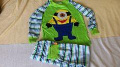detské pyžamko s mimoňom, moja práca