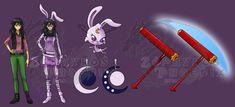 Miraculous Chara: Diane Dubrosse and Lona by Zephyros-Phoenix on DeviantArt