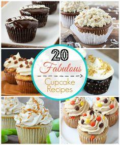 20 Fabulous Cupcake Recipes