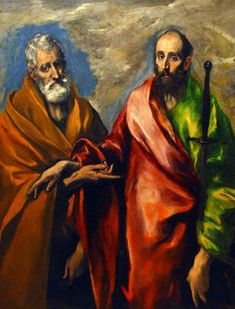 """""""St. Paul and St. Peter"""" - El Greco"""