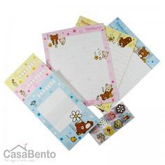 Rilakkuma Letter Pack - Daisy