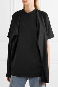 Y/PROJECT   Oversized cotton-jersey #Tshirt