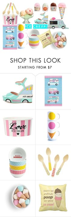 """""""Strawberry and Mint"""" by debrac0209 on Polyvore featuring interior, interiors, interior design, home, home decor, interior decorating, Kate Spade, At Home with Ashley Thomas, Cake Boss and polyvorecontest"""
