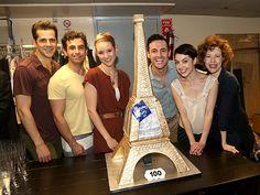 Robert Fairchild, Brandon Uranowitz, Jill Paice, Max von Essen, Leanne Cope and Veanne Cox of An American in Paris. An American In Paris, Becoming An Actress, My King, Theatre, Musicals, Broadway, It Cast, Heaven, Celebrities