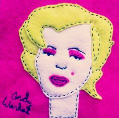 Andy Warhol: Untitled from Marilyn Monroe, 1967 Andy Warhol, the famous pop artist, did a series of posthumous portraits following Marilyn Monroe's death. In each portrait, Marilyn, the beautiful f...