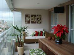 Decoração e Diferença entre Varandas, Sacadas e Terraços!!! Inspirações Modernas! Balcony Design, Dream House Plans, Sweet Home, Entryway, Backyard, House Design, Living Room, Interior Design, Exterior