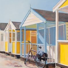 Early morning visit Southwold by Karen SJ Keable, 23 x Early Morning, Gallery, Outdoor Decor, Artist, Home Decor, Homemade Home Decor, Roof Rack, Artists, Decoration Home