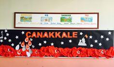Çanakkale 18 mart I School, Martini, 18th, Arts And Crafts, Kids Rugs, Montessori, English, Chop Saw, Kid Friendly Rugs
