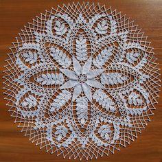 Home Decor Crochet Patterns Part 32 - Beautiful Crochet Patterns and Knitting Patterns Crochet Placemats, Crochet Stitches Patterns, Crochet Chart, Stitch Patterns, Knitting Patterns, Crochet Dollies, Crochet Home, Beautiful Crochet, Vintage Crochet