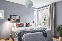 appartement contemporain - chambre  #decoration #design #mobilier