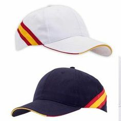 Gorra de 6 paneles selección española