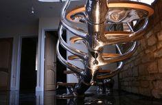 Escaleras de diseño inusual
