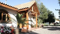 """Gasthaus Hotel, located in the heart of the vineyards of Colchagua is on the way to Huique.#Chile """"Colchagua"""