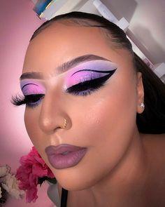 Purple Makeup Looks, Pretty Makeup, Creative Makeup Looks, Simple Makeup, Dope Makeup, Galaxy Makeup, Makeup Pictorial, Makeup Inspiration, Makeup Ideas