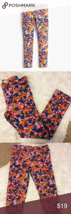 Crew cuts everyday girls leggings Crew cuts everyday girls leggings. EUC love this fun print!! crewcuts Bottoms Leggings