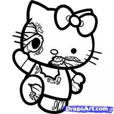 Hello Kitty Skull Bow Gothic Cute Items Pinterest Hello Kitty Kitten And Gothic