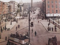 Dublin Street, Old Photos, Old Pictures, Vintage Photos