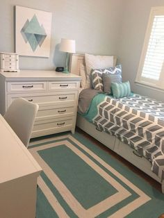 A small bedroom may be a large problem, particularly when considering how significant this space is for a emotional and . Read Stunning Decoration Ideas For Small Bedroom Room Ideas Bedroom, Small Room Bedroom, Trendy Bedroom, Home Decor Bedroom, Bedroom Furniture, Small Rooms, Diy Bedroom, Small Space, Girls Bedroom