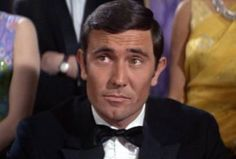 George Lazenby as James Bond in OHMSS (1969)