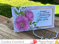Candice Crawford, Note Cards, Thank You Cards, Memory Box Cards, Distress Oxide Ink, Copic Markers, Clear Stamps, Card Stock, Card Making