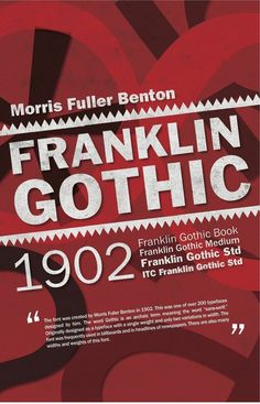 timeline poster for Franklin Gothic font | Continue with Facebook Sign up with Email