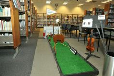 Caddy Stacks—Mini Golf at the Library